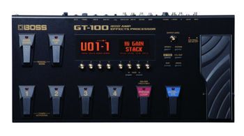 Picture of Pedalier Multi Effets BOSS GUITARE GT100
