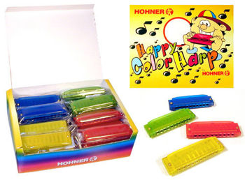 Picture of Harmonica HOHNER HAPPY COLOR