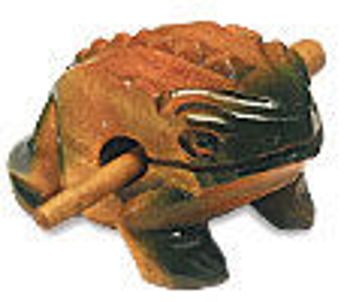 Picture of GUIRO GRENOUILLE 14CM