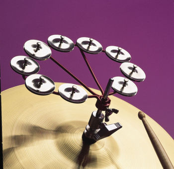 Picture of Tambourin SUR HIT HAT JINGLE RING Latin Percussion LP191