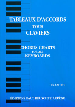 Image de TABLEAUX ACCORDS CLAVIERS Piano