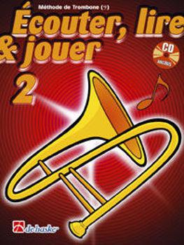 Image de ECOUTER LIRE ET JOUER Methode V2SOL +CDgratuit Trombone