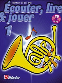 Picture of ECOUTER LIRE ET JOUER Methode +CD COR FA V1