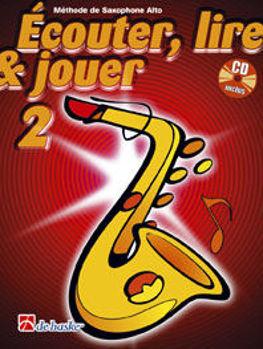 Picture of ECOUTER LIRE ET JOUER Methode +CD Saxophone alto V2