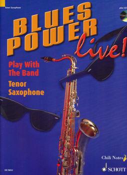 Image de BLUES POWER SAX TENOR + CDgratuit