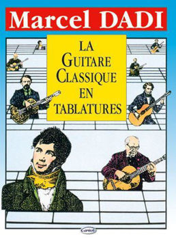 Picture of DADI GUITARE CLASSIQUE TABLATURES Guitare Classique