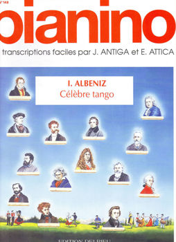 Image de ALBENIZ CELEBRE TANGO PIA 148 Piano
