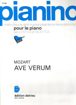 Picture of MOZART AVE VERUM  Piano 128