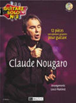 Picture of NOUGARO Guitare SOLO N3 +CDgratuit Tablature
