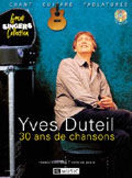 Image de DUTEIL 30 ANS DE CHANSONS +CDgratuit  Chant Guitare  Tablature