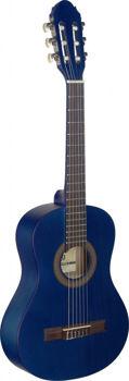 Image de Guitare Classique 1/2 TILLEUL BLEU Mat convient à l'enfant