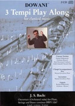Picture of BACH JS OUVERTURE H-MOLL Flute Traversière Format A5 +2CDS GRATUITS
