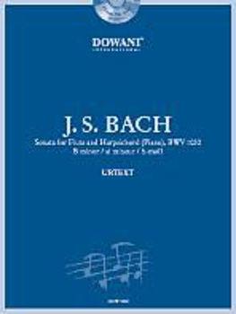 Picture of BACH JS SONATE H MOLL BWV1030 Flute Traversière +CD Gratuit