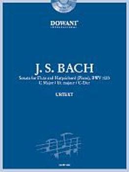 Picture of BACH JS SONATE C DUR BWV 1033 Flute Traversière +CD Gratuit