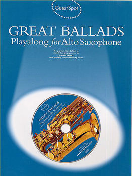 Picture of GUEST SPOT GREAT BALLADS ASAX+CDgratuit