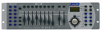 Picture of CONSOLE DMX 512 16 CANAUX NICOLS