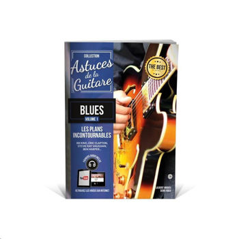 Picture of ASTUCES GUITARE BLUES VOL1 +Fichiers audios inclus