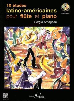 Picture of ARRIAGADA ETUDES LATINO +CDgratuit Flute Traversière
