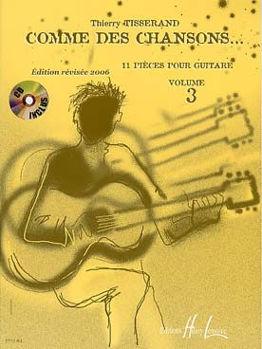 Image de TISSERAND COM.DES CHANSONS V3 Guitare Classique +CDgratuit