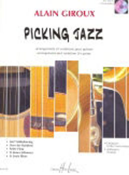 Image de GIROUX PICKING JAZZ +CDgratuit  Guitare Tablature
