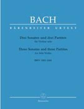 Picture of BACH JS 3 SON. ET PART.BWV1001-1006 Violon