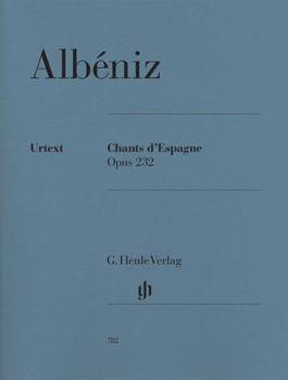 Image de ALBENIZ CHANTS D'ESPAGNEOP232 Piano