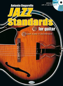Picture of ONGARELLO JAZZ Standards For Guitare Tablature