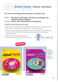 Picture of ATOUT VENTS VOL1 +CD