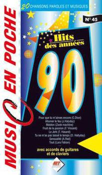 Picture of ANNEES 90 MUSIC EN POCHE accords paroles melodies