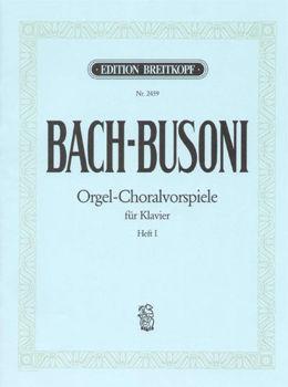 Image de BACH JS CHORALVORSPIELE PART1 Piano