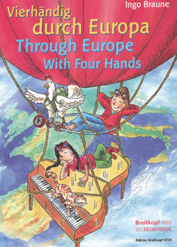 Picture of BRAUNE VIERHANDIG DURCH EUROPA 4M