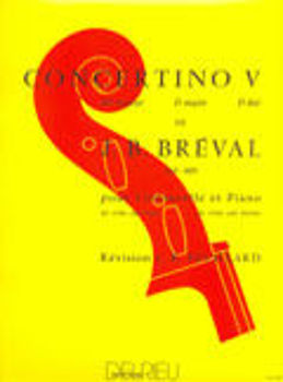 Picture of BREVAL CONCERTINO 5 Violoncelle/Piano