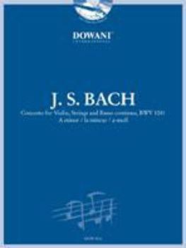 Picture of BACH J.S. CONCERTO BWV1041 +CDgratuit  CRD/BC Violon