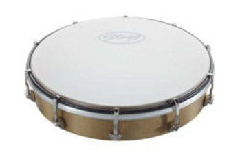 """Picture of Tambourin 10"""" Peau Synthetique A MAIN ACCORDABLE 25cm"""
