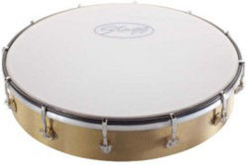 """Picture of Tambourin 12"""" Peau Synthetique A MAIN ACCORDABLE 30cm"""