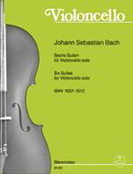 Image de BACH J.S. SIX SUITES BWV1007-1 Violoncelle
