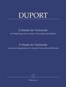 Image de DUPORT 21 ETUDES CELLO AV 2EM Violoncelle
