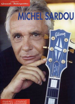 Picture of SARDOU Collection Grands Interpretes Piano Voix Guitare