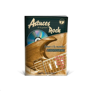 Picture of ASTUCES DE LA GUITARE ROCK +CDgratuit Tablature