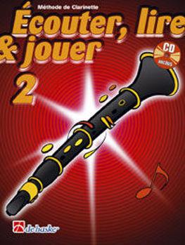 Image de ECOUTER LIRE ET JOUER Methode +CD Clarinette V2