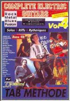 Picture of COMPLETE  ELECTRIC GUITARE V4 +CDgratuit Tablature Jj Rébillard