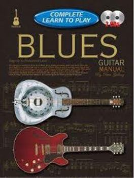 Picture of COMPLETE LEARN TO PLAY BLUES Guitare Tablature 2 CD gratuits