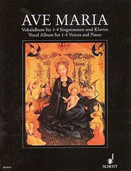 Picture of AVE MARIA VOCAL ALBUM 1-4VOICES