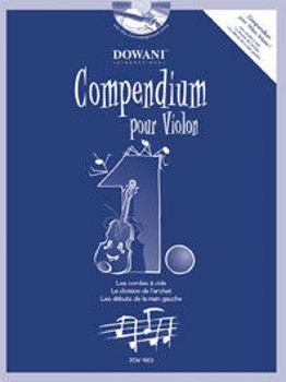 Picture of COMPENDIUM POUR Violon V1 +CDgratuit