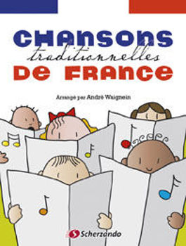 Picture of CHANSONS TRADITIONNELLES DE FRANCE Flute a bec +CDgratuit