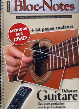Picture of BLOC NOTES GUITARE Acoustique Methode Tablature + DVDgratuit