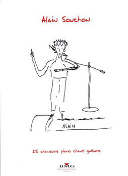 Picture of SOUCHON ALAIN 25 TITRES Piano Voix Guitare
