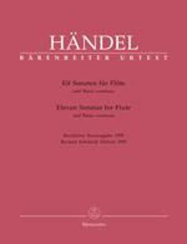 Picture of HAENDEL SONATES (11) Flue a bec alto  ET BASSE CONTINUE