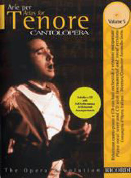 Picture of CANTOLOPERA ARIAS VOL5+CDgratuit TENOR