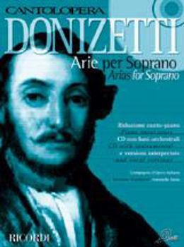 Picture of CANTOLOPERA DONIZETTI ARIAS+CD. TENOR .chant